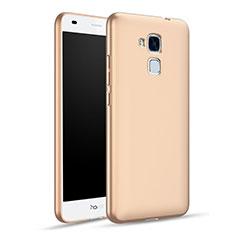 Huawei Honor 5C用ハードケース プラスチック 質感もマット ファーウェイ ゴールド
