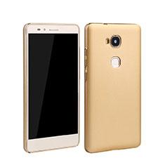 Huawei Honor 5X用ハードケース プラスチック 質感もマット ファーウェイ ゴールド