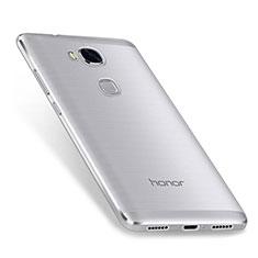 Huawei Honor 5X用極薄ソフトケース シリコンケース 耐衝撃 全面保護 クリア透明 カバー ファーウェイ クリア