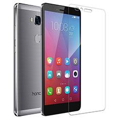 Huawei Honor 5X用強化ガラス 液晶保護フィルム T04 ファーウェイ クリア