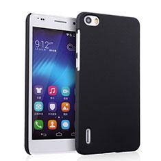 Huawei Honor 6用ハードケース プラスチック 質感もマット ファーウェイ ブラック