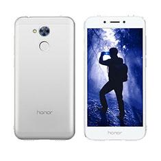 Huawei Honor 6A用ソフトケース フルカバー クリア透明 フリップ ファーウェイ クリア