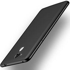 Huawei Honor 6A用ハードケース プラスチック 質感もマット ファーウェイ ブラック