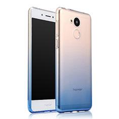 Huawei Honor 6A用極薄ソフトケース グラデーション 勾配色 クリア透明 ファーウェイ ネイビー