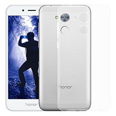 Huawei Honor 6A用極薄ソフトケース シリコンケース 耐衝撃 全面保護 クリア透明 T03 ファーウェイ クリア