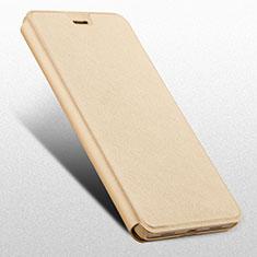 Huawei Honor 6X用手帳型 レザーケース スタンド L03 ファーウェイ ゴールド