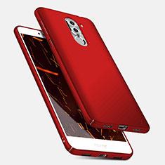 Huawei Honor 6X用ハードケース プラスチック 質感もマット M04 ファーウェイ レッド