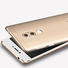 Huawei Honor 6X用極薄ソフトケース シリコンケース 耐衝撃 全面保護 クリア透明 T08 ファーウェイ クリア