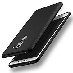 Huawei Honor 6X用極薄ソフトケース シリコンケース 耐衝撃 全面保護 S03 ファーウェイ ブラック