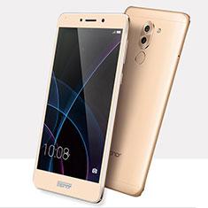 Huawei Honor 6X用強化ガラス フル液晶保護フィルム F03 ファーウェイ ゴールド