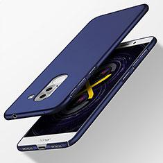 Huawei Honor 6X Pro用ハードケース プラスチック 質感もマット ファーウェイ ネイビー