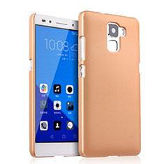 Huawei Honor 7用ハードケース プラスチック 質感もマット ファーウェイ ゴールド