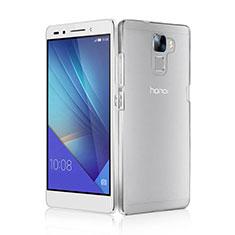 Huawei Honor 7用ハードケース クリスタル クリア透明 ファーウェイ クリア