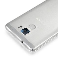 Huawei Honor 7用極薄ソフトケース シリコンケース 耐衝撃 全面保護 クリア透明 カバー ファーウェイ クリア
