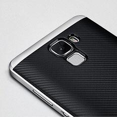 Huawei Honor 7用ケース 高級感 手触り良い アルミメタル 製の金属製 バンパー ファーウェイ ブラック
