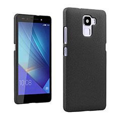 Huawei Honor 7 Dual SIM用ハードケース カバー プラスチック ファーウェイ ブラック