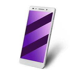 Huawei Honor 7 Dual SIM用アンチグレア ブルーライト 強化ガラス 液晶保護フィルム ファーウェイ ネイビー