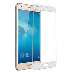 Huawei Honor 7 Lite用強化ガラス フル液晶保護フィルム ファーウェイ ホワイト