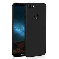 Huawei Honor 7C用ハードケース プラスチック 質感もマット M01 ファーウェイ ブラック