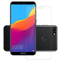 Huawei Honor 7C用強化ガラス 液晶保護フィルム T03 ファーウェイ クリア