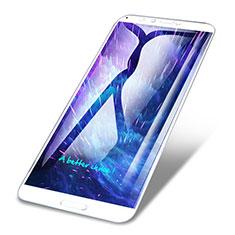 Huawei Honor 7C用強化ガラス フル液晶保護フィルム F06 ファーウェイ ホワイト
