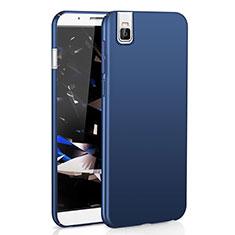 Huawei Honor 7i shot X用ハードケース プラスチック 質感もマット M01 ファーウェイ ネイビー