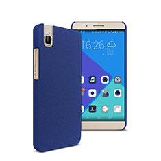 Huawei Honor 7i shot X用ハードケース カバー プラスチック ファーウェイ ネイビー