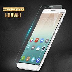 Huawei Honor 7i shot X用強化ガラス 液晶保護フィルム T02 ファーウェイ クリア