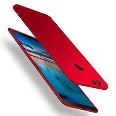 Huawei Honor 7X用ハードケース プラスチック 質感もマット M12 ファーウェイ レッド