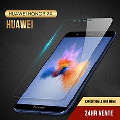 Huawei Honor 7X用強化ガラス 液晶保護フィルム T08 ファーウェイ クリア