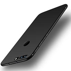 Huawei Honor 8用極薄ソフトケース シリコンケース 耐衝撃 全面保護 S01 ファーウェイ ブラック
