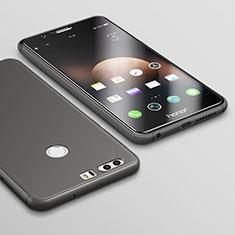 Huawei Honor 8用極薄ソフトケース シリコンケース 耐衝撃 全面保護 S02 ファーウェイ ブラック