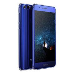 Huawei Honor 8用極薄ソフトケース シリコンケース 耐衝撃 全面保護 クリア透明 T04 ファーウェイ クリア