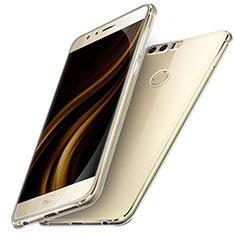 Huawei Honor 8用極薄ソフトケース シリコンケース 耐衝撃 全面保護 クリア透明 T05 ファーウェイ クリア