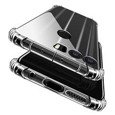 Huawei Honor 8用極薄ソフトケース シリコンケース 耐衝撃 全面保護 クリア透明 T06 ファーウェイ クリア
