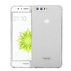 Huawei Honor 8用極薄ソフトケース シリコンケース 耐衝撃 全面保護 クリア透明 カバー ファーウェイ クリア