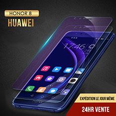 Huawei Honor 8用アンチグレア ブルーライト 強化ガラス 液晶保護フィルム B02 ファーウェイ クリア