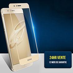 Huawei Honor 8用強化ガラス フル液晶保護フィルム F07 ファーウェイ ゴールド