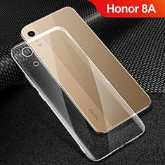 Huawei Honor 8A用極薄ソフトケース シリコンケース 耐衝撃 全面保護 クリア透明 T06 ファーウェイ クリア