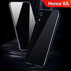 Huawei Honor 8A用極薄ソフトケース シリコンケース 耐衝撃 全面保護 クリア透明 T08 ファーウェイ クリア