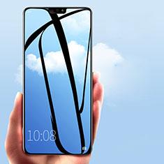 Huawei Honor 8X用強化ガラス フル液晶保護フィルム F03 ファーウェイ ブラック