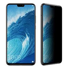 Huawei Honor 8X用反スパイ 強化ガラス 液晶保護フィルム ファーウェイ クリア