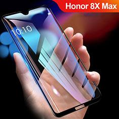 Huawei Honor 8X Max用強化ガラス フル液晶保護フィルム R01 ファーウェイ ブラック