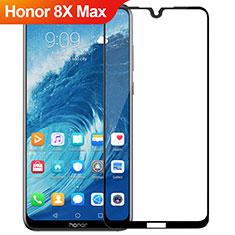 Huawei Honor 8X Max用強化ガラス フル液晶保護フィルム R02 ファーウェイ ブラック
