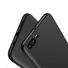 Huawei Honor 9用極薄ソフトケース シリコンケース 耐衝撃 全面保護 S03 ファーウェイ ブラック