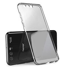 Huawei Honor 9用ハードケース クリスタル クリア透明 ファーウェイ グレー