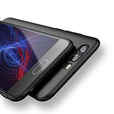 Huawei Honor 9用極薄ソフトケース シリコンケース 耐衝撃 全面保護 S09 ファーウェイ ブラック