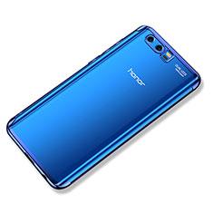 Huawei Honor 9用極薄ソフトケース シリコンケース 耐衝撃 全面保護 クリア透明 H02 ファーウェイ ネイビー