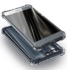 Huawei Honor 9用極薄ソフトケース シリコンケース 耐衝撃 全面保護 クリア透明 T11 ファーウェイ クリア