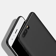 Huawei Honor 9用シリコンケース ソフトタッチラバー ファーウェイ ブラック